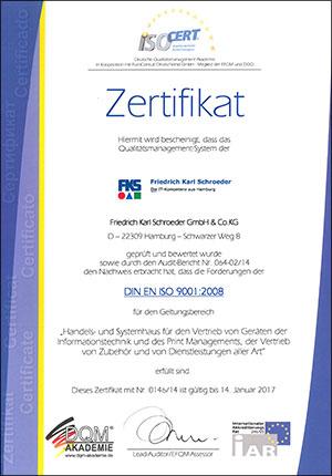FKS_ISO_Zertifikat