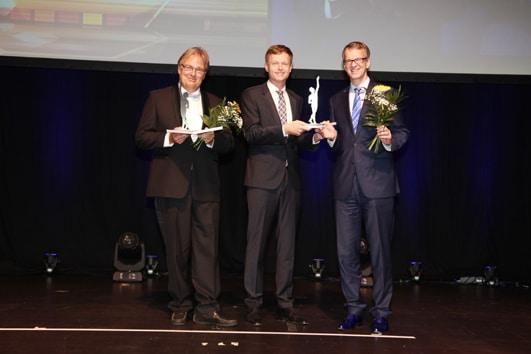 Großer Preis des Mittelstandes Finalisten Übergabe am 09.09.2016. Fotonachweis: Boris Löffert. Quelle: Oskar-Patzelt-Stiftung